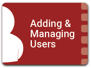 Adding & Managing Users